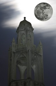 Super Moon over Fox Tower