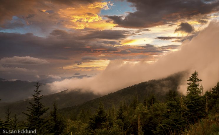 First Place - Sunset Clingmans Dome, Susan Ecklund